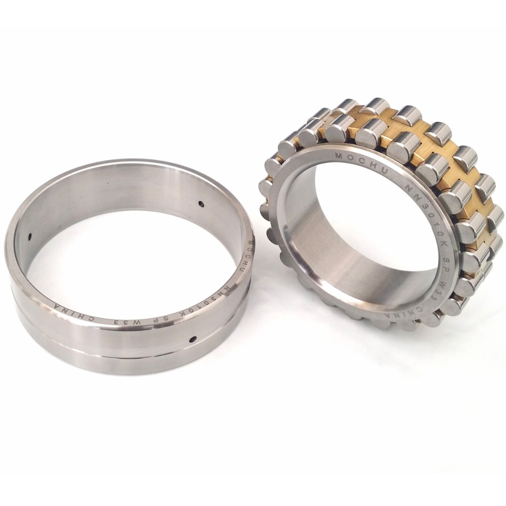 1pcs bearing NN3010K SP W33 3182110 50x80x23 NN3010 3010 Double Row Cylindrical Roller Bearings Machine tool bearing precision machine tool spindle bearings xz double row cylindrical roller bearings d3182110 nn3010k 50 80 23