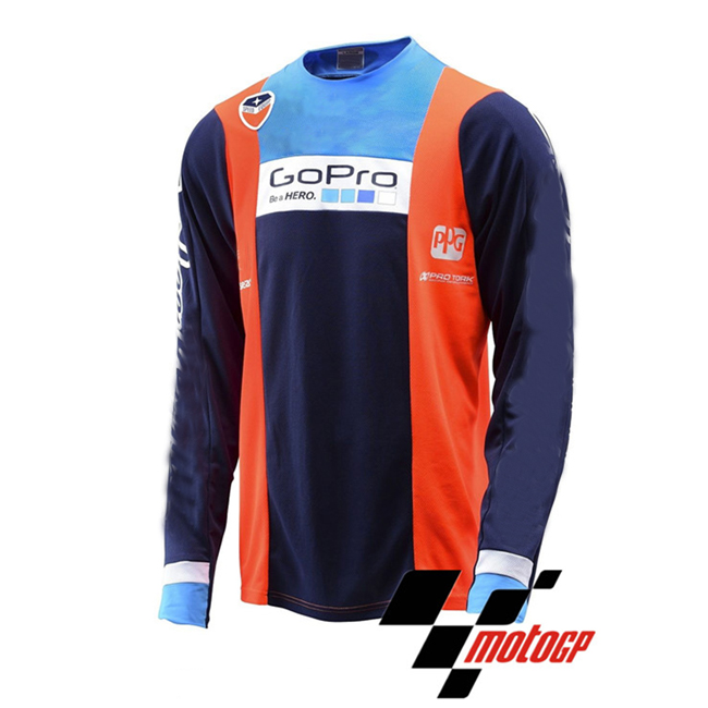 Men Cycling Jersey Jacket KTM GoPro Bike Motocross MTB Tight Shirt Team Clothing