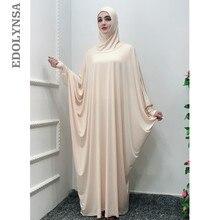 6111dabf2e 2019 Solid Islamic Clothing Plain Hijab Evening Dresses Moroccan Kaftan  Turkish Robe Dubai Abaya Turkey Muslim