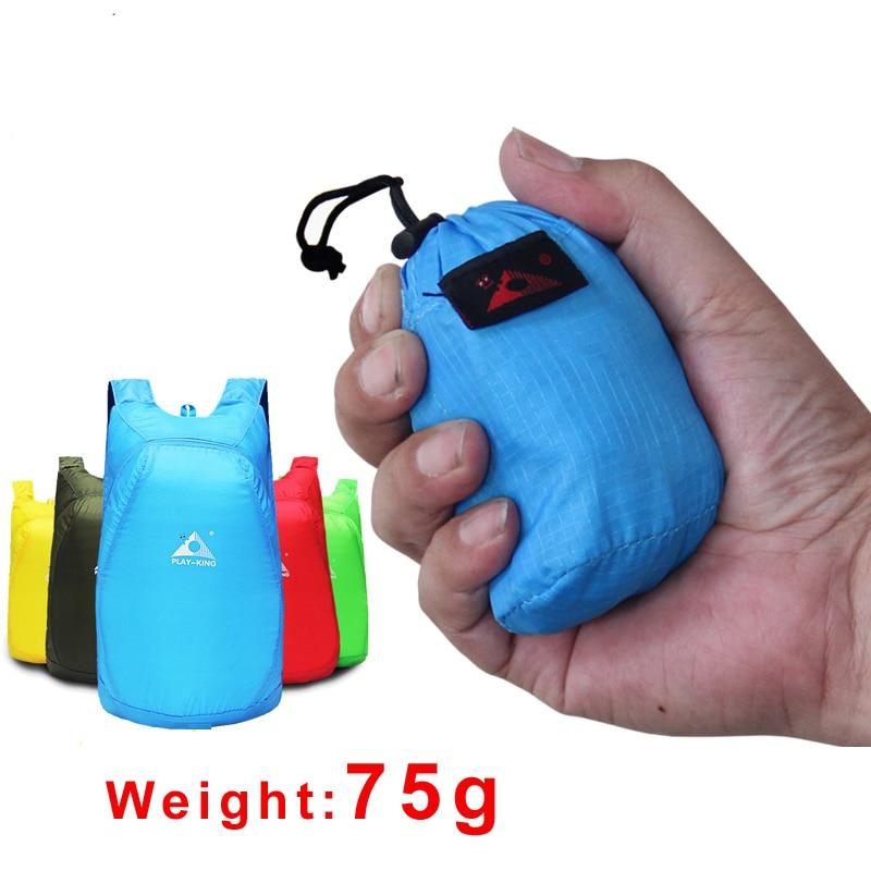 saco de nylon leve mochila dobravel mochila impermeavel dobravel ultraleve pacote para as mulheres homens viagem