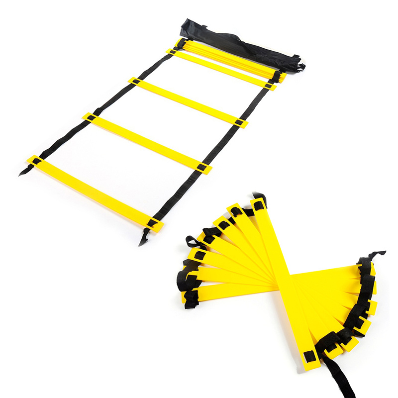 High Quality 3M 6 Rung Agility Ladder for Football Soccer Speed Outdoor Sports Training Ladder Step with Carry Bag
