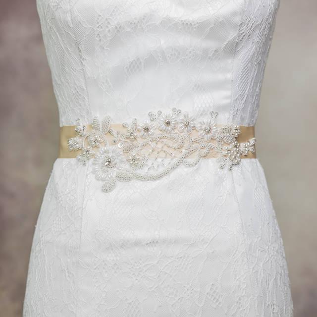 Wedding Bridal Sash Belt Crystal Rhinestone Dress Sash Prom Sash Wedding Sash Belt