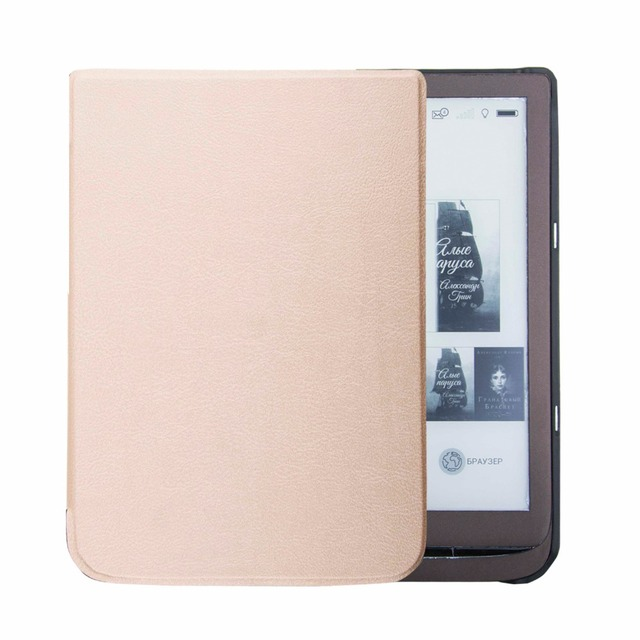 US $295 0 |PU leather cover case for pocketbook inkpad 3 ereader pocketbook  inkpad 740 cover case-in Tablets & e-Books Case from Computer & Office on