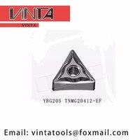 Free shipping high quality 10pcs/lots YBG205 YBG202 TNMG220412 EF cnc turning reserts cutting blade tools