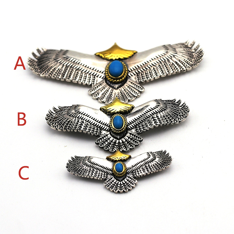 Pure 925 Sterling Silver Jewelry Eagle Charms Pendants For Men And Women Thai Silver Birds Necklace Chain Fine Gift 659 in Pendants from Jewelry Accessories