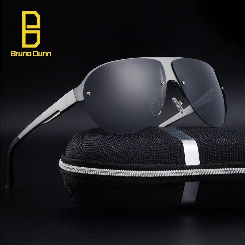 Aluminum Magnesium Fashion Mens Mirror Titanium Sun Glasses Rimless Eyewear Female Male  ...