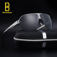 Aluminum Magnesium Fashion Men's Mirror Titanium Sun Glasses Rimless Eyewear Female Male Polarized Sunglases For Women aviation