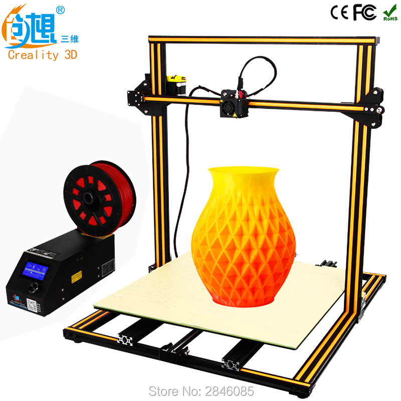 3D Printer Creality 3D CR-10S CR-10 Optional ,Dua Z Rod Filament Sensor/Detect Resume Power Off Optional 3D Printer DIY Kit metal frame linear guide rail for xzy axix high quality precision prusa i3 plus creality 3d cr 10 400 400 3d printer diy kit