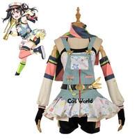 Love Live School Idol Project Nico Yazawa Crayon Painter Awaken Dress Uniform Outfit Anime Cosplay Costumes