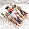 Meninas bonitos tecido tingido mão diy bolsa de costura têxteis lar pano de algodão dos desenhos animados de parede decora quiltting patchwork flor de fadas