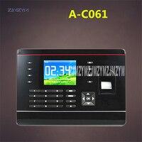 Venta A C061 2 8 pulgadas TFT biométrico huella digital tiempo asistencia grabadora huella digital ID tarjeta