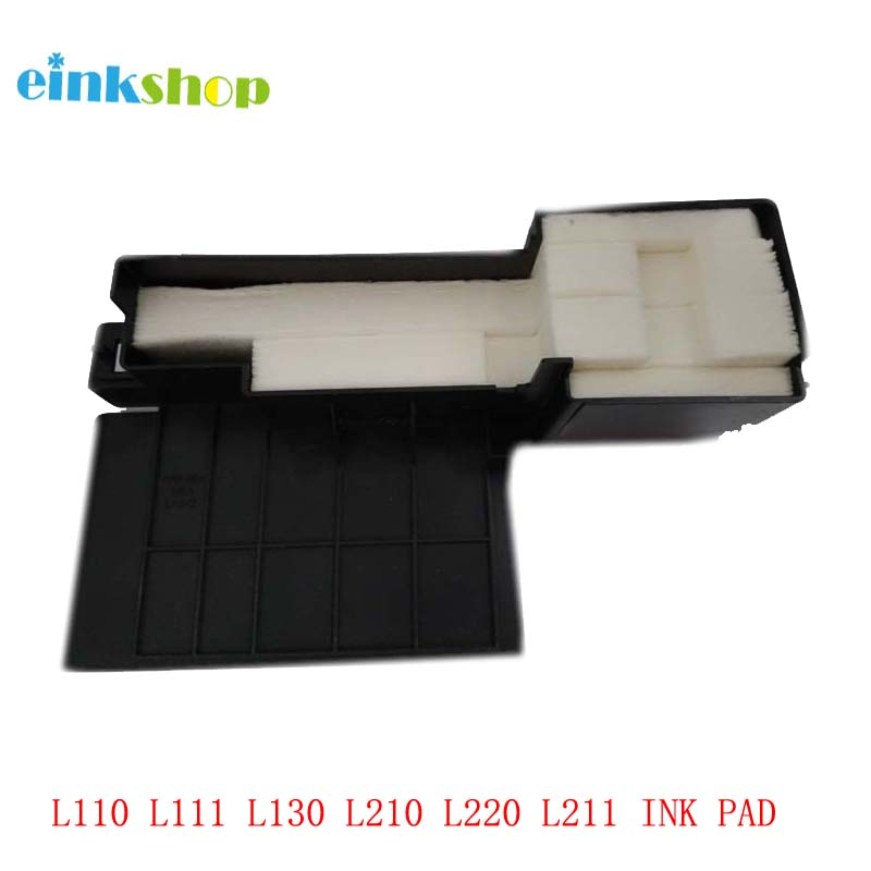 For epson ink pads For Epson L110 L111 L130 L210 L220 L211 L301 L303 L310 L313 L351 L353 L360 L363 L365 ME401  Waste Ink pads hisaint 70 ml refill dye ink 6 ink cartridge ink for epson l101 l111 l201 l211 l301 l351 l353 l l551 l558 for espon printer ink