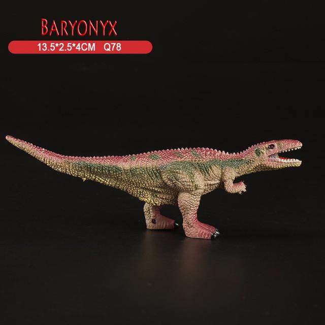 Jurassic Baryonyx Dinosaur Toys Action Figure Plastic