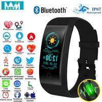 MMN Original Qw18 Smart Wristbands Fitness Bracelet Band Gps strap Replacement Band Waterproof Watch Heart Rate Tracker 24H Ship