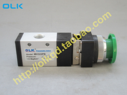 Free shipping Right Pneumatics MV322 Series Mechanical Valve MV322PB, 2 Position 3 Port mechanical valve free shipping fa 350 pneumatic mechanical valve 1 4 mechanical control valve 5 port 3 way pedal valve foot valve nbsanminse