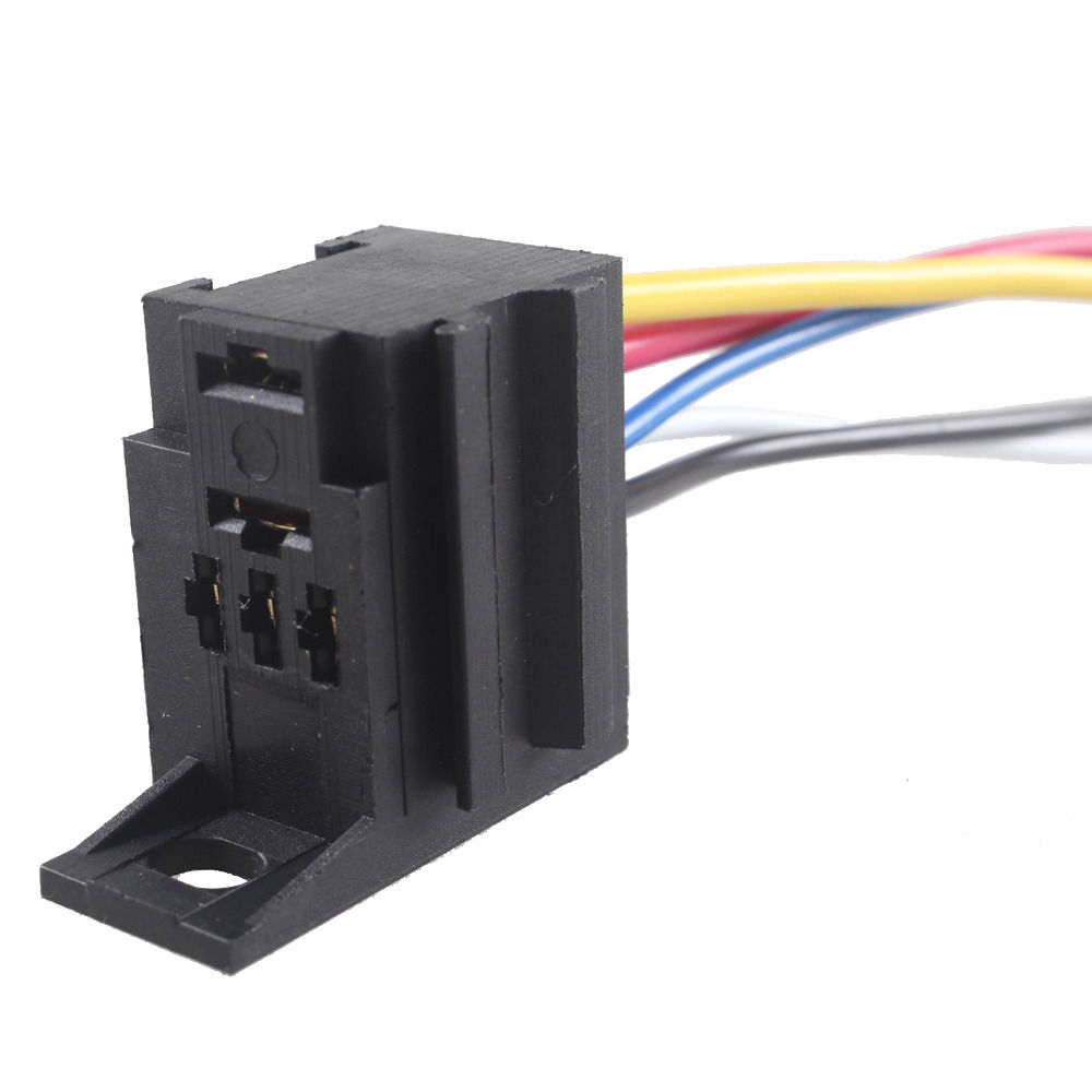 EE support 1Pcs DIY Car Auto Motor 12V 12 Volt 30A AMP Duty Relay Harness  Socket 5Pin 5 Wire Car Styling XY01