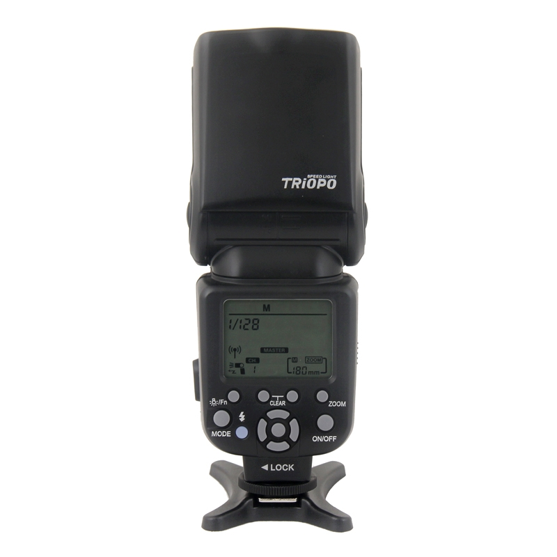 Triopo TR-960III Speedlite Flash Light for Nikon D7000 D5000 D5100 D3200 D3100 DLSR Came ...