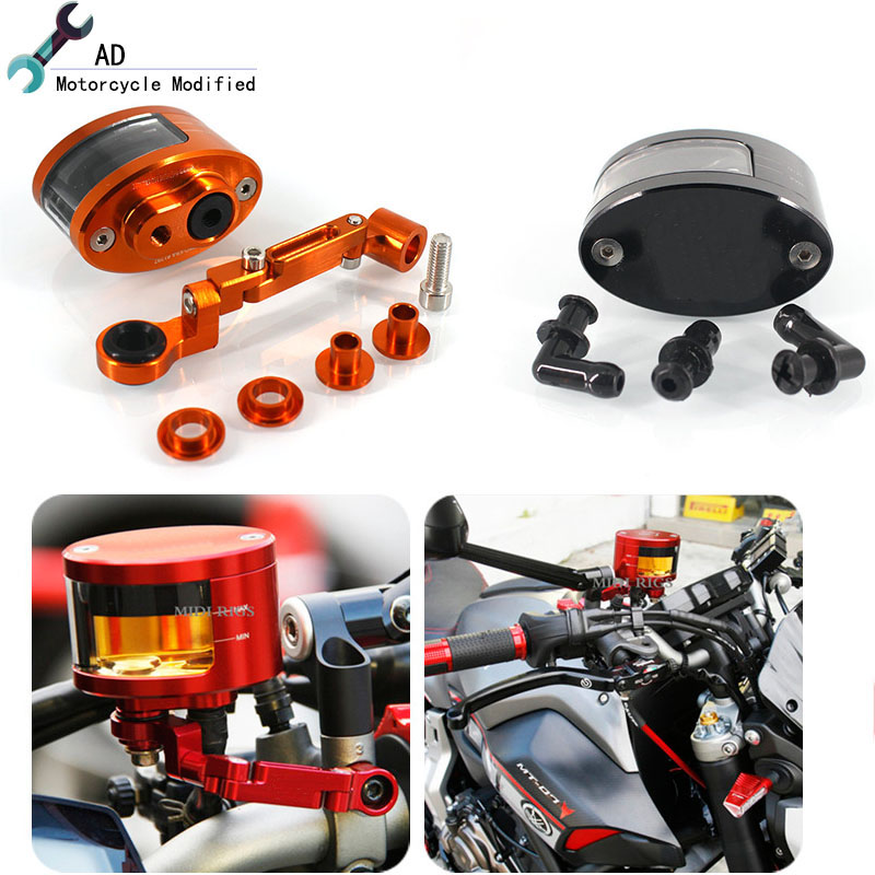 For Yamaha TMAX 530 tracer 900 TTR250 TDM 850 900 Brake Fluid Reservoir Clutch Tank Oil Fluid Cup Motorcycle Accessories # universal motorcycle brake fluid reservoir clutch tank oil fluid cup for mt 09 grips yamaha fz1 kawasaki z1000 honda steed bone