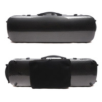 New 4/4 violin case carbon fiber composite Oblong Case hard Case Light Strong