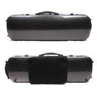 New 4/4 violin case carbon fiber composite Oblong Case hard Case Light Strong