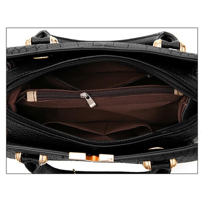 Image 4 - New Crocodile Pattern Women Bag Handbags Women Messenger Bags Crossbody Shoulder Bags Ladies Tassel Women Leather Handbags Hot-in Top-Handle Bags from Luggage & Bags