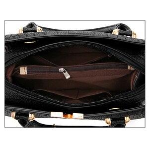 Image 4 - New Crocodile Pattern Women Bag Handbags Women Messenger Bags Crossbody Shoulder Bags Ladies Tassel Women Leather Handbags Hot