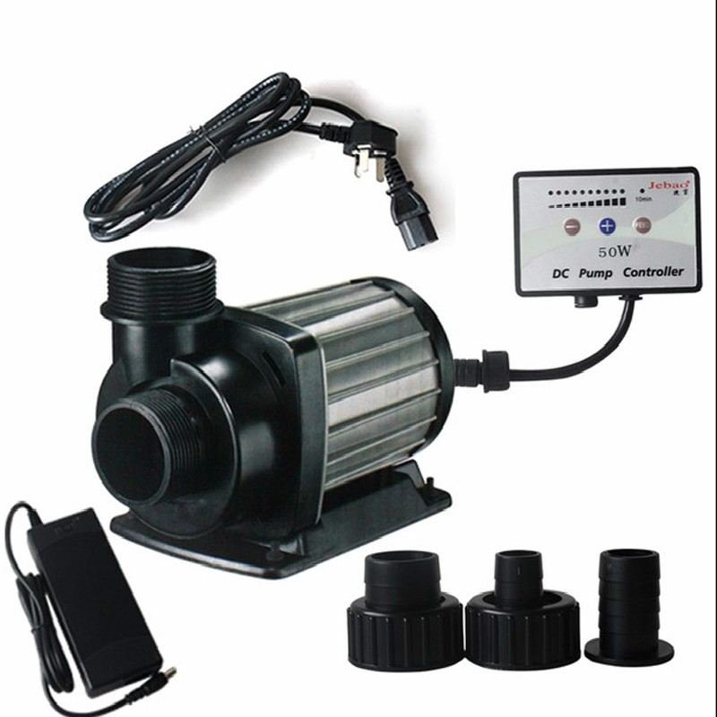 DCT4000/6000/8000 Aquarium réglable-débit pompe à eau Conversion de fréquence DC pompe pour Marine Nano eau douce étang Foutain