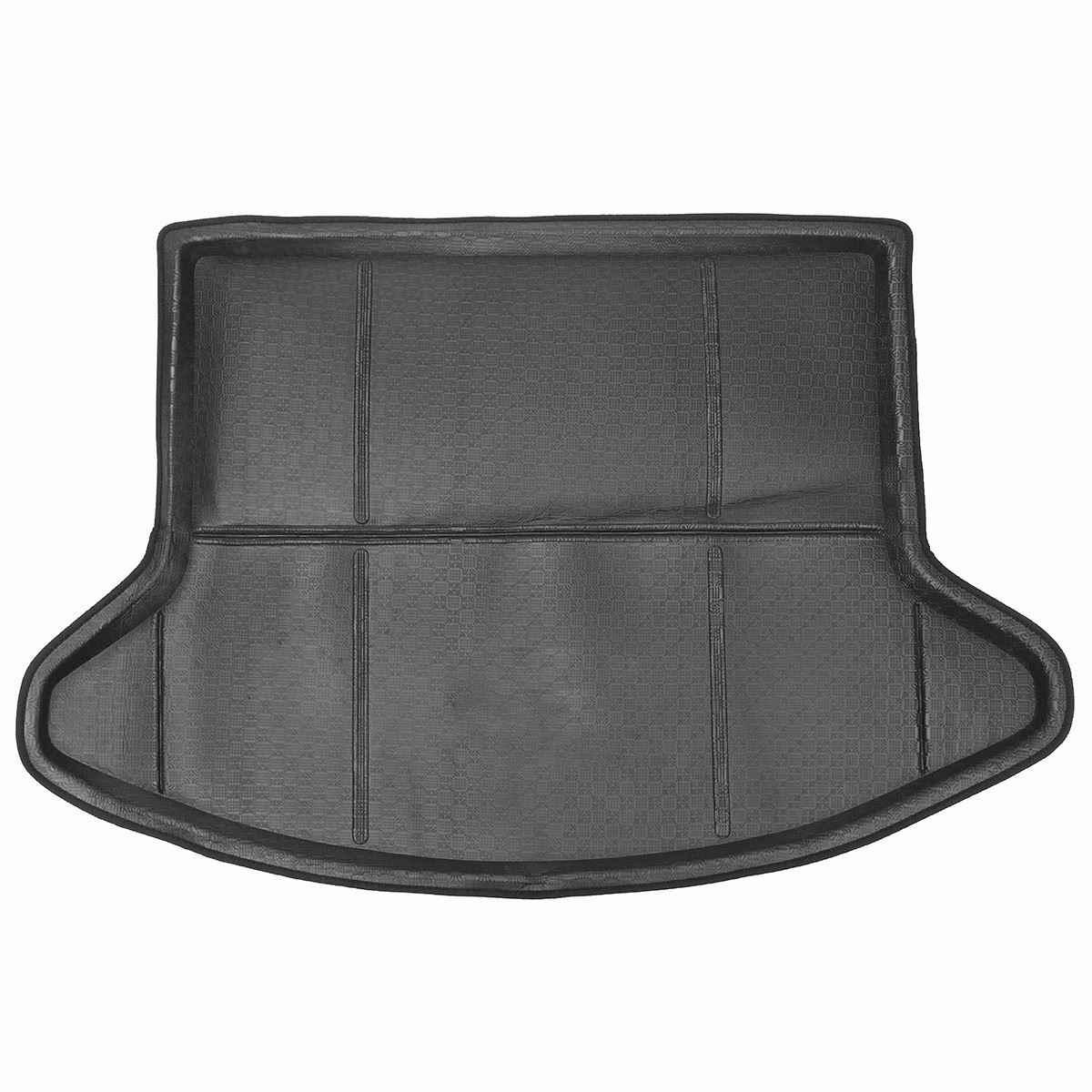 السيارات Tailcase حصيرة عباءة الخلفية سيارة جذع البضائع حصيرة الطابق لمازدا/CX-5 2013 2014 2015 2017 الأسود