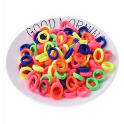 Мода 50 шт./лот конфеты Цветной качество эластичная резинка для волос держатели аксессуары девушка Для женщин резинки Галстук ГУМ (Mix Цвет) H07