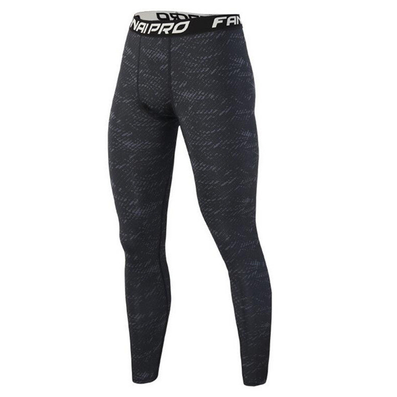 Men compression Quick-dry leggings gyms Fitness bodybuilding Brand male workout trousers Joggers elasticity Tight pants