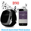 B90 sport music reloj altavoz bluetooth inalámbrico portátil mini altavoz fm tf de radio audio subwoofers altavoz manos libres de llamadas