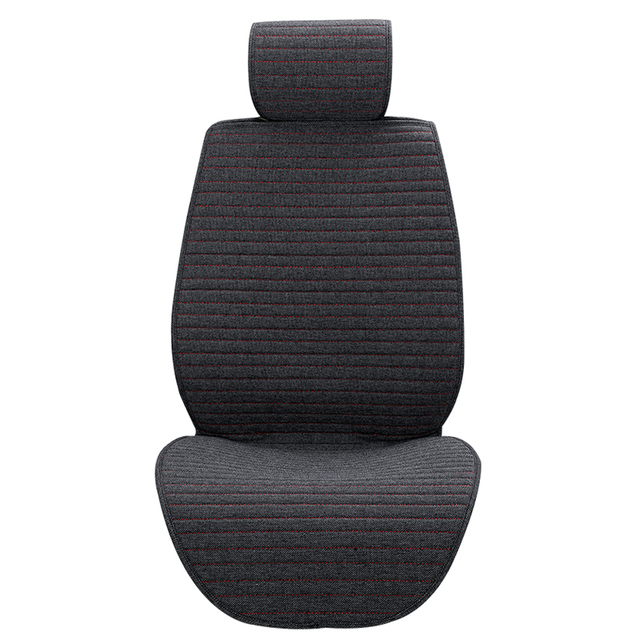 1 piece O SHI CAR Seat Cushion Linen/Breathable Car Seat Cover Pad Fit Most auto,Truck,Inside Covers for cars Protect front seat