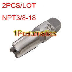 Free Shipping 2PCS/LOT Carbon Steel 3/8 NPT Pipe Tap with 18 Threads per Inch. For Hand 1000mg 100 pcs fish oil bottle for health capsules omega 3 dha epa with free shipping