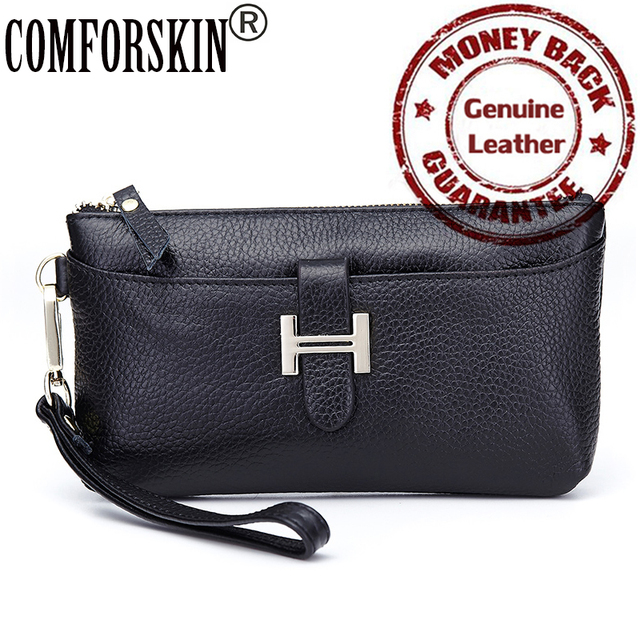 Hot-selling Fashion Brand Desinger H Style Luxury Genuine Leather Multifunctional Women Coin Purse 5 Color