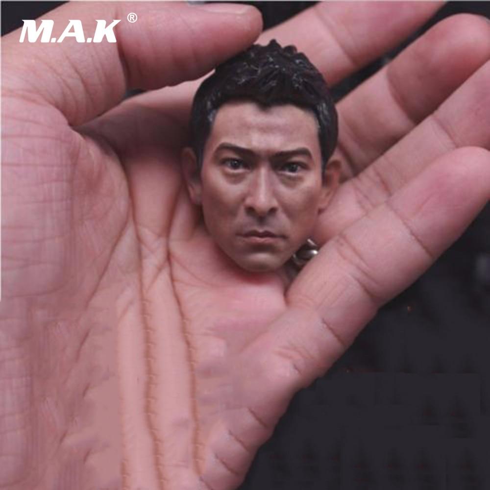 1/6 Scale Asian Male Head Sculpt Liu Dehu/Daniel Wu/Takeshi Kaneshiro Head Carving Model for 12 Figure Body 1 6 scale male figure carving daredevil punisher jon bernthal head sculpt battle damage version model for 12 body
