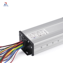 1500W 48V 12 Mosfet Brushless Controller,Electric Bicycle Brushless Controller,Ebike Electric Tricycle Controller Scooter