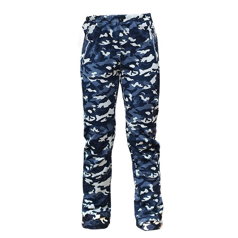 Mounchain Men Winter Thick Warm Fleece Softshell Camouflage Pants Waterproof Windproof Trousers Fishing Camping Hiking Skiing high quality winter men warm softshell pants skiing snowboard outdoor sport hiking trousers grey camping climbing breath snow