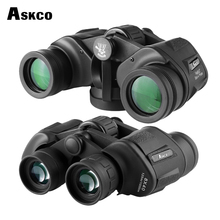 лучшая цена High times FMC 8X40 HD waterproof portable binoculars telescope hunting clear vision telescope tourism outdoor sports eyepiece
