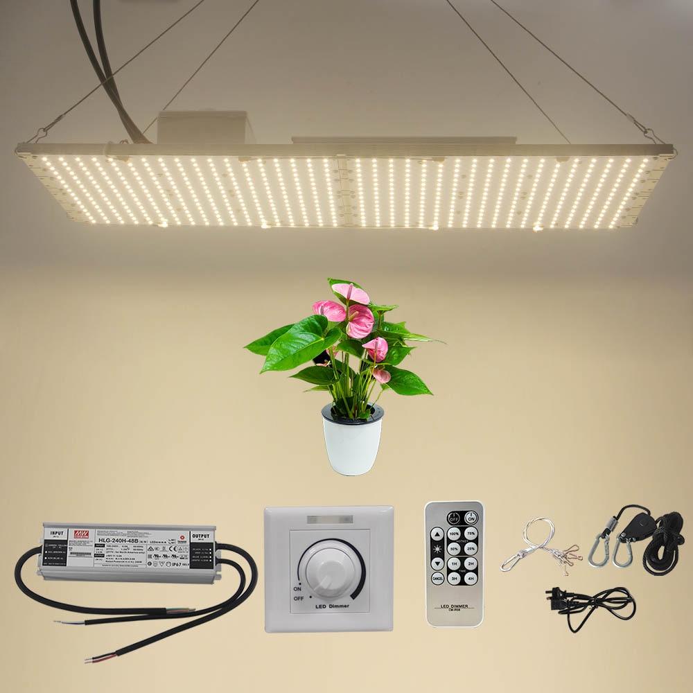 IDEA LIGHT  240W Led Grow Light Full Spectrum QB288 V2 Samsung Lm301b Lm301h Heatsink Quantum