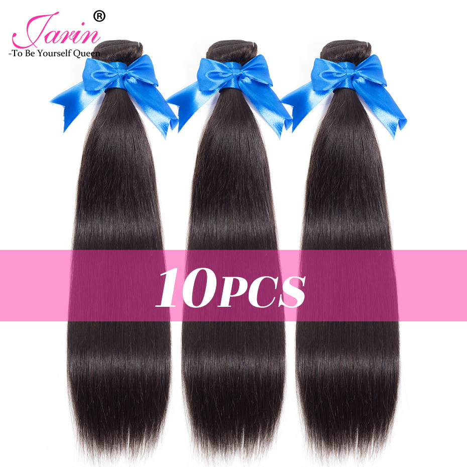 Hair-Extension Human-Hair Deal 10-Bundles Brazilian JARIN Straight DHL 3-5 Fast-Ups Days