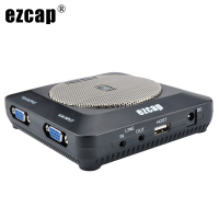 Ezcap289 HDMI 1080P Lecture Recorder VGA & USB Video Capture Built in Microphone Mic for Classroom to Record Lecture Lessons