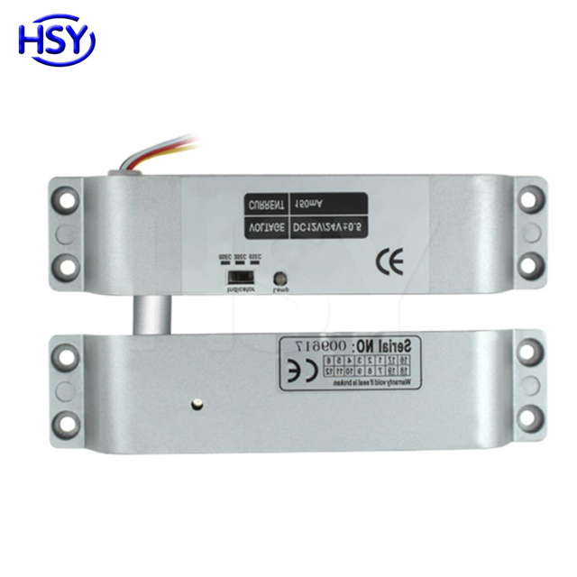 Hsy Dc12v Time Delay Surface Mount Locks Fail Safe Electric Drop Bolt Door Lock For Access