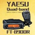 YAESU FT-8900R FT 8900R Professional Carro Móvel de Rádio Em Dois Sentidos/Walkie-Talkie Interphone Transceptor Carro
