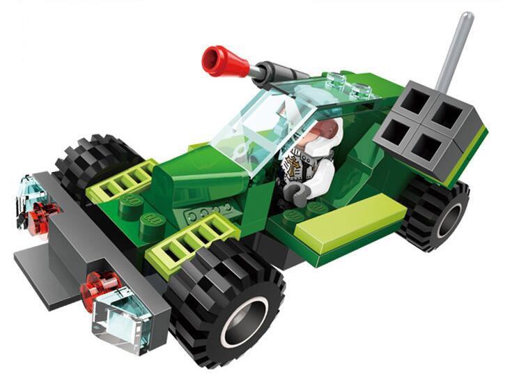 GUDI Earth Border Fantasy Series Building Blocks Compatible with  Car Robot Blocks Educational DIY Children Toys Blocks gudi earth border blocks children