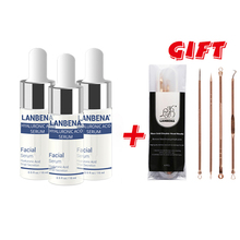 Buy 3 Get 1 Gift Hyaluronic Acid Moisturization Essence Skin Face Care