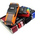2016 Password Lock Adjustable Nylon Travel Luggage Straps Belt Protective Travel Accessories Suitcase Packing Belt