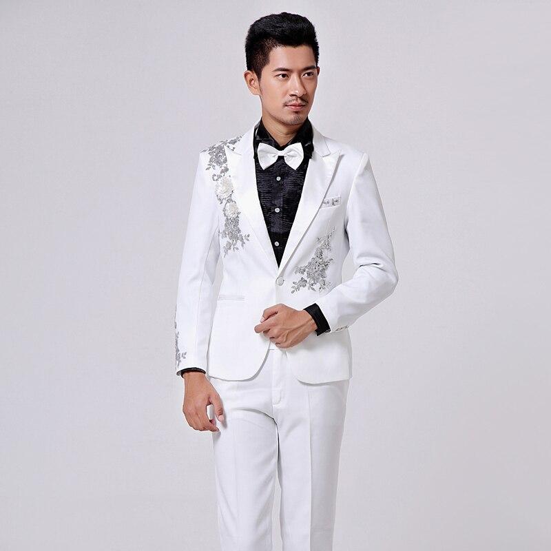 Online Get Cheap Black Prom Suits for Men -Aliexpress.com