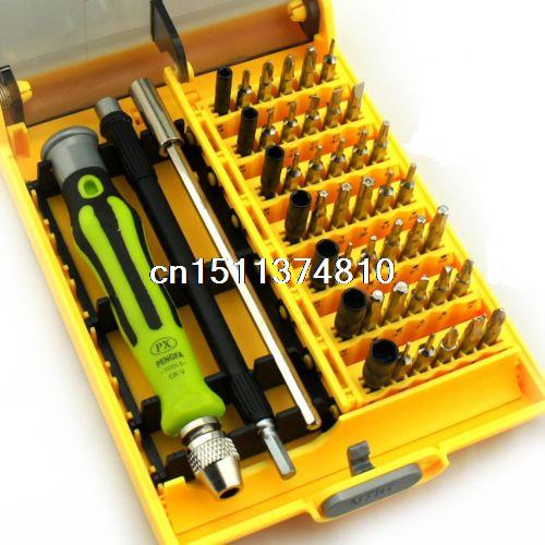 45in1 Precision Torx Screwdrivers Repair Tools Kit Set For for RC PC Mobile Car high quality 53in1 multi bit repair tools torx screwdrivers kit set for electronics pc laptop ver54