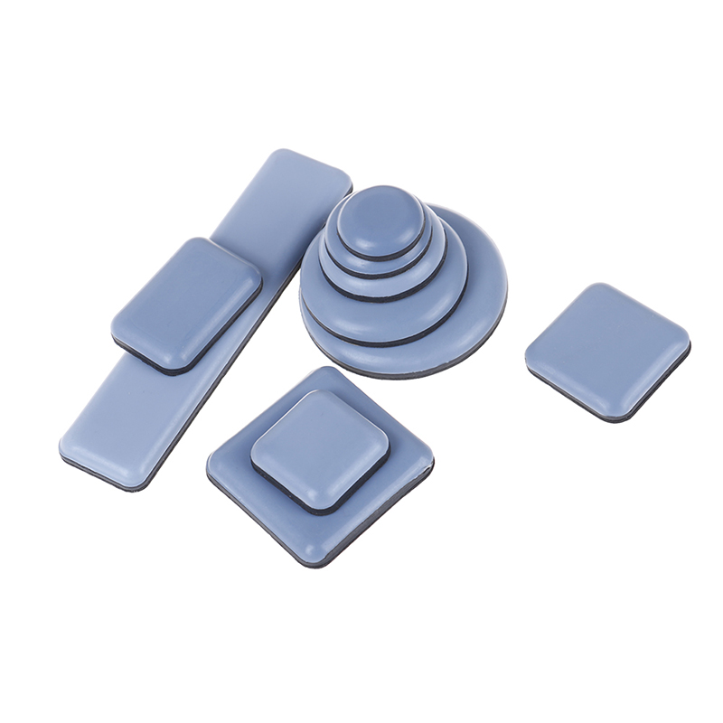 4pcs/6pcs/8pcs Furniture Coaster Carpet Ground Magic Moving Anti-abrasion Floor Mat Table Bases Protector Slider Pad