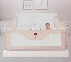 1,2 m a 2,2 m cama de viaje portátil rail corralito para bebé valla para la cama del bebé cama de seguridad rieles valla de seguridad para niños barandilla de seguridad